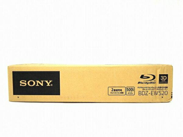 未使用 【中古】 SONY ソニー BDZ-EW520 BD ブルーレイ レコーダー 500GB ブラック O2520793:ReRe(安く買えるドットコム)