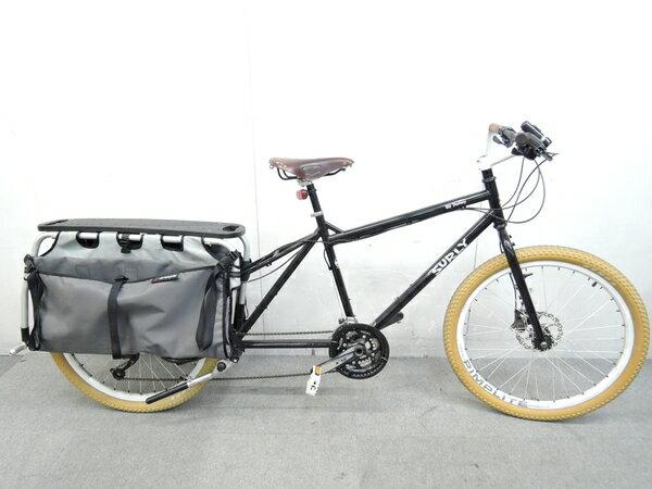 【中古】 SURLY BIG DUMMY 自転車 ラック バイクバッグ 付き サイク...
