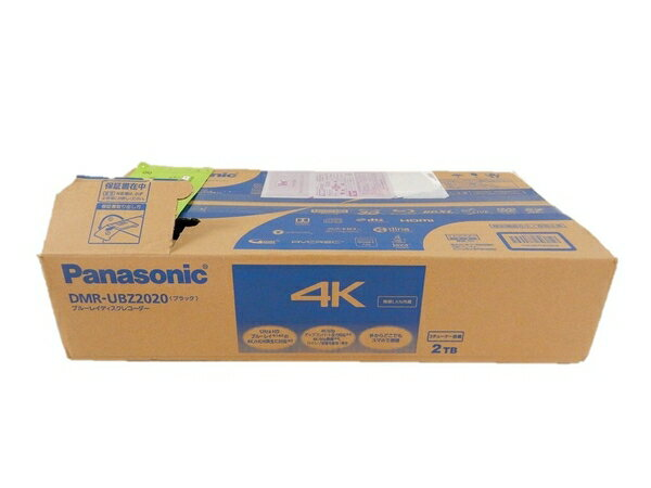 未使用 【中古】 未使用 Panasonic パナソニック DMR-UBZ2020 ブルーレイ ディスク レコーダー 2TB HDD 内蔵 3番組 同時 S2493901:ReRe(安く買えるドットコム)