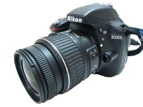 【中古】 中古 Nikon D3300 18-55 デジタル カメラ レンズ キット  S2503085:ReRe(安く買えるドットコム)