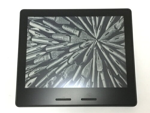 amazon Kindle Oasis Wi-Fi 3G タブレット 6型 300ppi バッテリー内蔵レザーカバー付属 ...