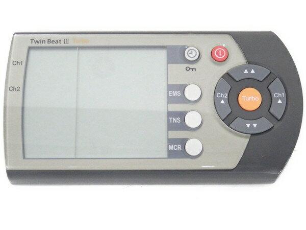 【中古】 伊藤超短波 Twin beat III Turbo ツインビート3ターボ EMSマシン  F2516598:ReRe(安く買えるドットコム)