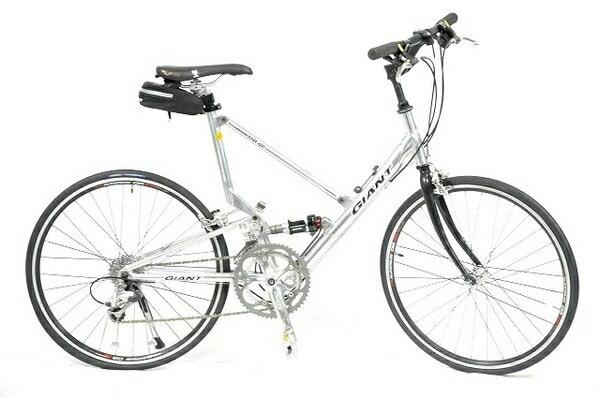 【中古】 GIANT 折りたたみ 自転車 MR4F ミニベロ 通勤 通学 街乗り お...