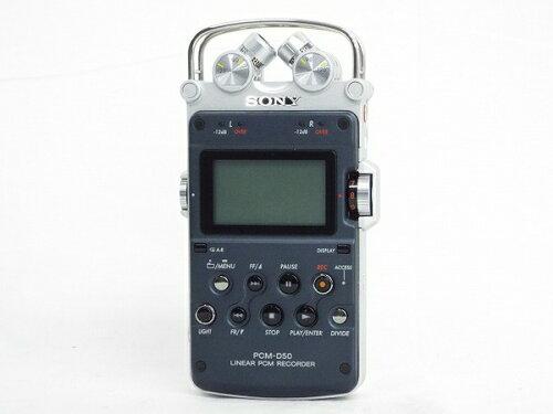 SONY ソニー リニアPCMレコーダー PCM-D50 ボイスレコーダー T2504786