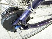 未使用【】展示品未使用Be-ALLBS26-Di2400ダークブルーアーバンスポーツバイク自転車内装変速【大型】F2419221