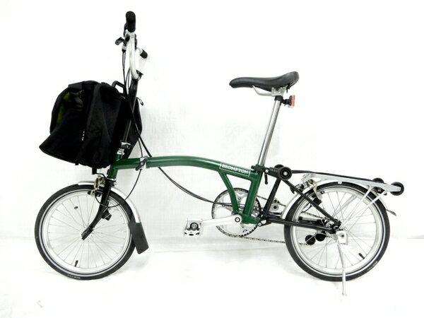 【中古】 BROMPTON M6R 折りたたみ 自転車 16インチ 中古 Y4058...