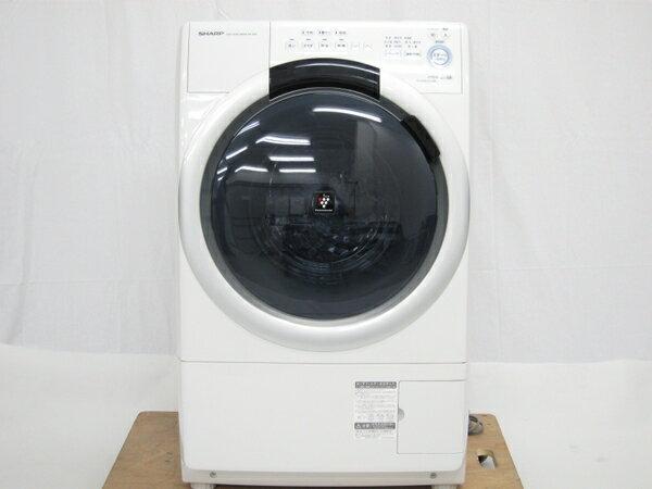 【中古】 SHARP シャープ ES-S7A-WL 洗濯乾燥機 7kg ホワイト【大型】 K2482999:ReRe(安く買えるドットコム)