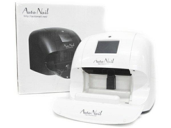 Auto Nail mini オート ネイル アート プリンター ホワイト 美容 F2235421