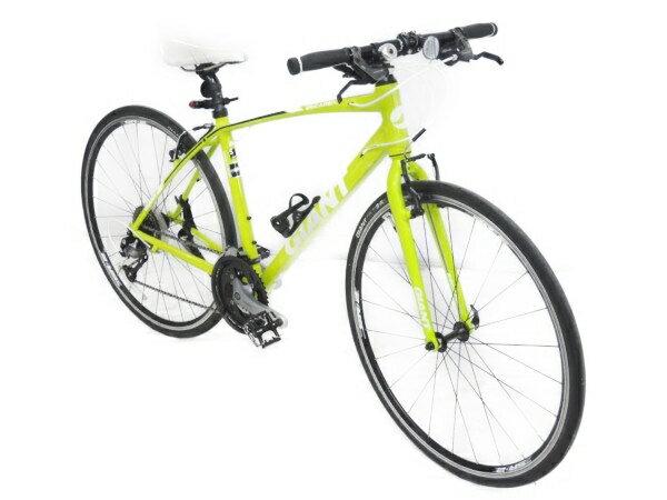 【中古】 GIANT ジャイアント ESCAPE RX3 クロスバイク 自転車 イエ...