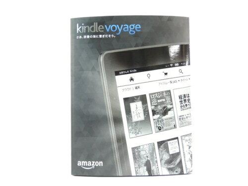 未使用 Kindle Voyage Wi-Fi + 3G 電子書籍リーダー Y2680695
