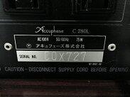 【中古】AccuphaseC-280Lステレオプリアンプ動作品Y1739613