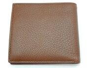 未使用【】グッチGUCCI二つ折り財布レザーブラウン04848Y2061911
