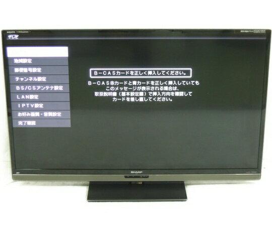 【中古】SHARP シャープ AQUOS LC-60L5 液晶テレビ 60型【大型】 Y2511206:ReRe(安く買えるドットコム)