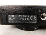 【中古】中古RICOHリコーGRDIGITALIVデジタルカメラコンデジブラック撮影映像録画記録趣味コレクションS2357398