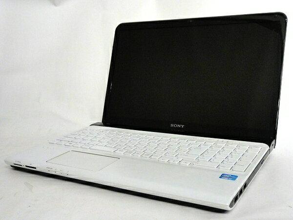 【中古】 SONY VAIO Eシリーズ SVE15127CJW ノート PC i7-3632…