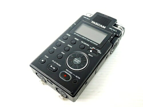 中古 TASCAM DR-100MKII リニア PCM レコーダー 機器 O1901485
