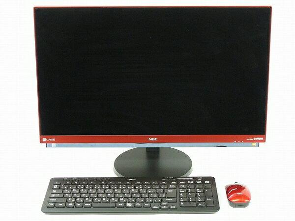 美品 【中古】 NEC LAVIE DA770/GAR PC-DA770GAR モニター 一体…