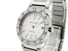 【中古】BVLGARIブルガリブルガリBB33WSSDボーイズ腕時計自動巻き新型ベルトデイト白文字盤T2345787