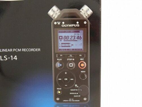 未使用 OLYMPUS LS-14 リニアPCM ICレコーダー 4GB 単3電池対応 T2548561