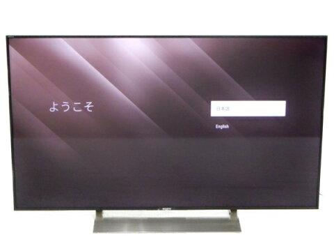 【中古】 SONY ソニー ブラビア KJ-49X9000E 49型 TV テレビ 映像 機器 17年製 楽直 【大型】 Y3424505