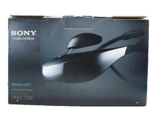 【中古】 中古 SONY Personal 3D Viewer HMZ-T3W ヘッドマウントディスプレイ ワイヤレス ブラック S2508767:ReRe(安く買えるドットコム)