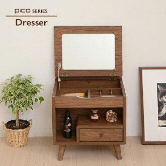 化妝台梳妝台梳妝台製造箱製造台化妝品箱製造鏡子小型化妝台收藏北歐鄉村木製dresser