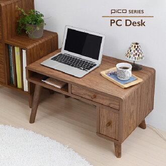 供桌子個人電腦桌子個人電腦使用的桌子pc桌子電腦架個人電腦的台階pc的台階低型個人電腦桌子pc桌子桌子低桌子北歐鄉村木製desk[郵費免費]