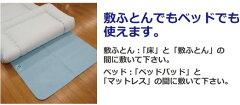 除湿シート(繰り返し使える吸湿センサー付き)セミダブルサイズ110x180cm【あす楽対応_関東】◆10P26mar10