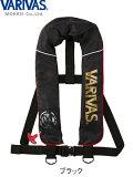 VARIVAS ライフジャケット ベストタイプ VAL-14(自動膨張式・TYPE-A)ブラック