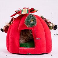 クリスマスchristmas猫ベッド猫ハウス可愛い