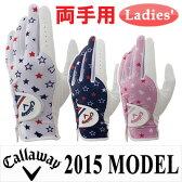 キャロウェイ シェブ デュアル グローブ レディース Chev Dual Glove Women's 15 JM
