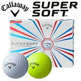 キャロウェイ SUPERSOFT [スーパーソフト] ゴルフボール (1ダース:12球)