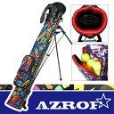 AZROF [アズロフ] セルフスタンドバッグ AZ-SSC02 ATRB 【アートレインボー】