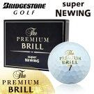 BRIDGESTONEGOLF[ブリヂストンゴルフ]TOURSTAGE[ツアーステージ]スーパーニューイングザ・プレミアムブリルボール(1ダース:12球)