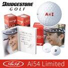 BRIDGESTONEGOLF[ブリヂストンゴルフ]Ai54LimitedTOURBXボール(半ダース箱:6球)【Ai54Limitedシリーズ】8BWYAI