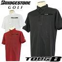 BRIDGESTONE GOLF [ブリヂストン ゴルフ] TOUR B 18SS メンズ 半袖ボタンダウンシャツ JGM05A