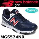 NEWBALANCEGOLF[ニューバランスゴルフ]ユニセックスDスパイクレスシューレース[ネイビー/レッド]MGS574