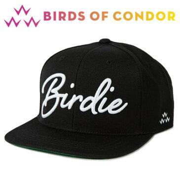BIRDS OF CONDOR [バード オブ コンドル] BOC SNAPBACKS BIRDIE ゴルフ キャップ TEMC8F02