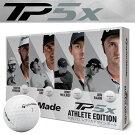 TaylorMade[テーラーメイド]TP5XATHLETEEDITION[アスリートエディション]数量限定ゴルフボール(1ダース:12球)