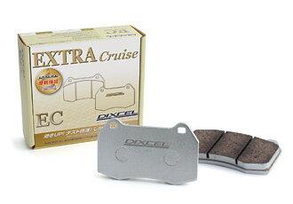 DIXCEL BRAKE PAD EC Type フロント用 ダイハツ マックス ターボ車 〜03/08 L960S用 (EC-381068)【ブレーキパッド】ディクセル ECタイプ