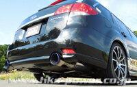 HKS スーパーターボマフラー スバル レガシィ ツーリングワゴン BR9用 (31029-AF006)【JQR認定品】