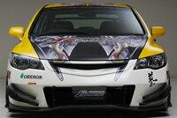 ジェイズレーシング AEROJ's RACING フロントバンパー タイプS(カーボンアンダーパネル)ホン...