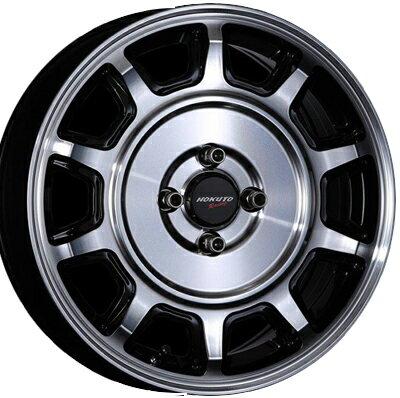 ホイール: CRIMSON HOKUTO Racing 零式-S ホイールサイズ: 5.5J-16 タイヤ銘柄: BRIDGESTONE POTENZA Adrenalin RE003 タイヤサイズ: 165/50R16タイヤ&ホイール4本セット【16インチ】画像