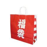 福袋 紙袋 50枚入り 3才(320×115×310)紙手提げ袋 /シンプルな福袋