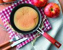 【新商品】くまのがっこうパンケーキパン(ジャッキーS2)日本製 ジャッキー チャッキー ガス専用 16cm フッ素 加工 キッチン ホットケーキ