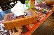 アジアン雑貨バリ♪ラタンと透かし彫りティッシュBOX♪【送料無料】おしゃれインテリアエスニックティッシュケースティッシュボックス