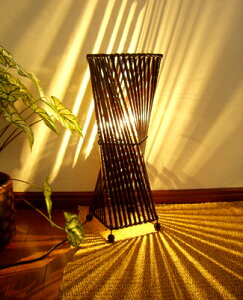 間接照明 スタンドライト ♪バンブートルネードランプM50♪ ※10月中旬発送予定 【送料無料】 アジアン照明 バリ おしゃれ フロアスタンド エスニック