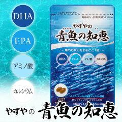 健康補助サプリメント DHA EPA カルシウム【送料無料】【D】やずやの青魚の知恵DHA、EPA、カル...