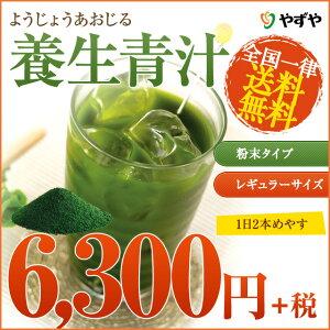 【送料無料】【D】やずやの養生青汁(粉末タイプ・レギュラーサイズ)やずやの養生青汁は、大分県産…