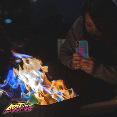 【大人の火遊び】ARTFIRE5個セットアートファイヤー/今話題大人気焚き火焚火SNSとの相性バツグンキャンプファイヤーキャンプアウトドアイベントソロキャンフェスパーティー宴会デートグランピングBBQ送料無料